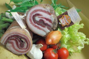 Tuscan Bacon (Rigatino)